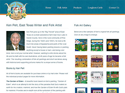 Pelt Farm Website Design
